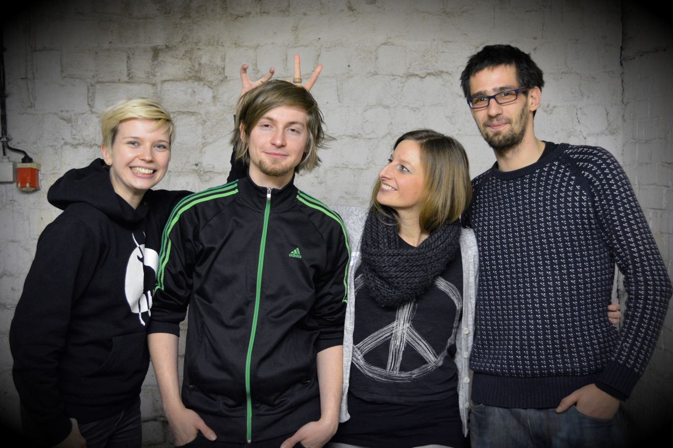 v.l.n.r.: Nora, Elias, Kristina, Anton