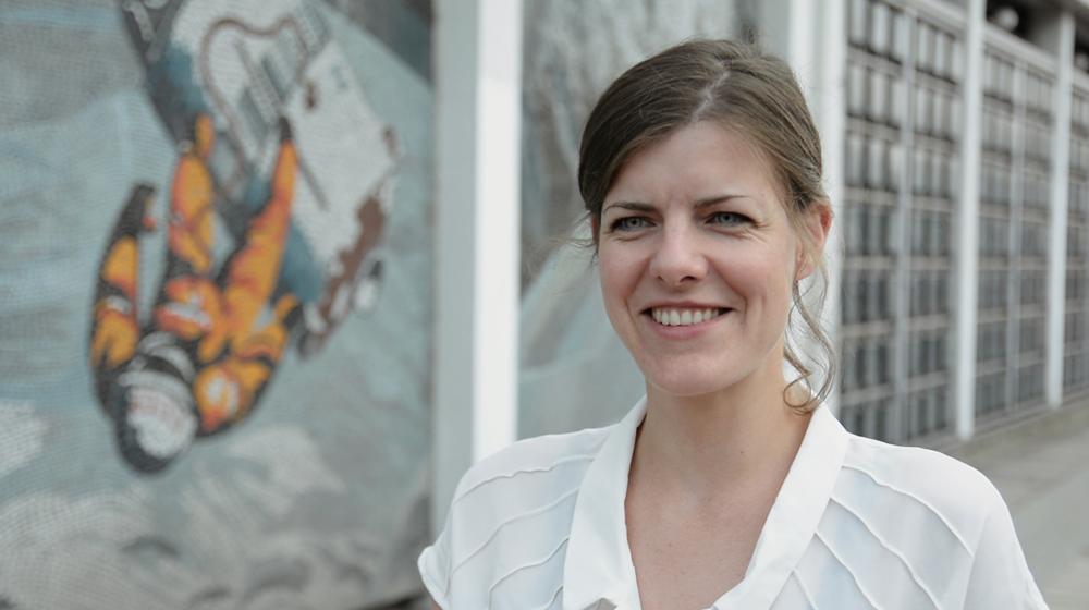 Anja Engel / Standbild aus dem Film von Elias Franke und Kristina Tschesch