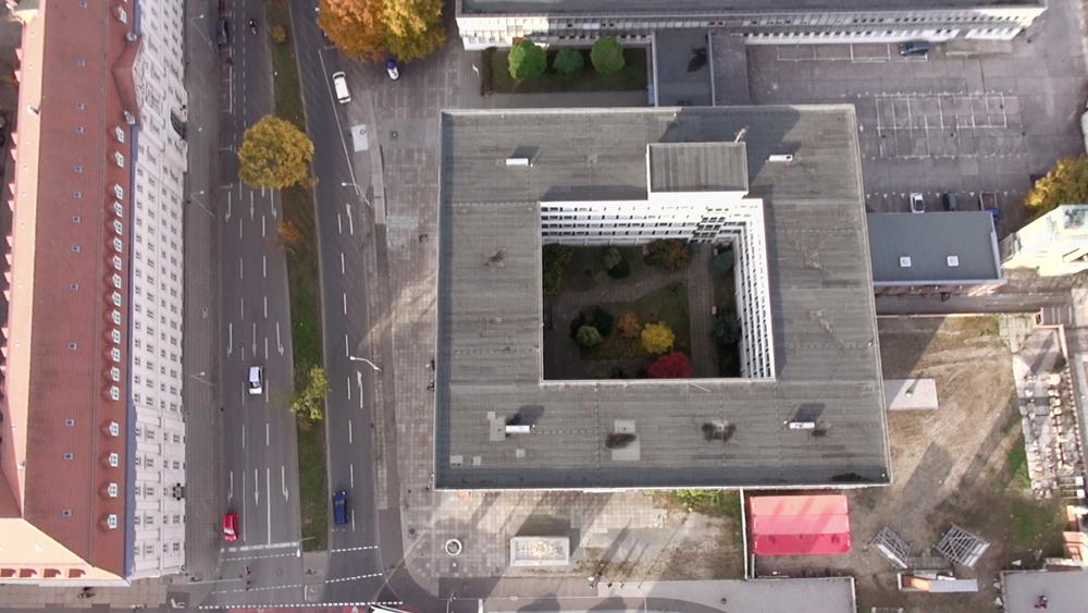 Standbild aus dem Film von Elias Franke und Kristina Tschesch / Luftaufnahme: Christian Morgenstern