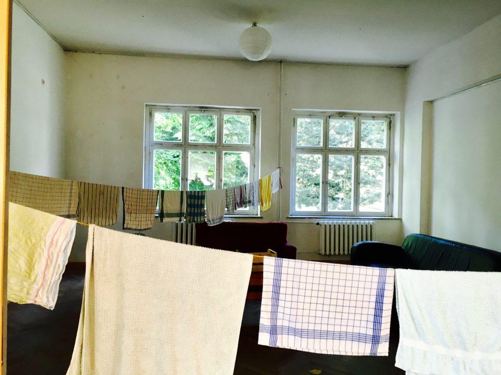 """""""Endlich in trockenen Tüchern!"""" Foto: Scholle51/Anne Schulz"""